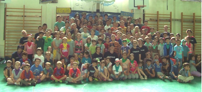 Summer camp in the public school