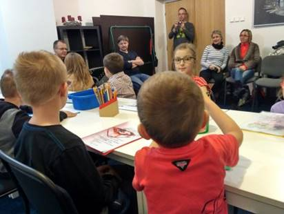 Christmas Bible Club for children…with their parents